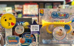 Star Dot Toys Mainstream Mall birthday promotion