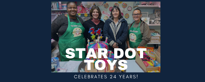 Star Dot Toys Mainstream Mall 24 birthday